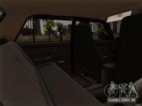 VAZ 21054 para GTA San Andreas interior