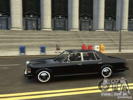 Rolls-Royce Silver Spirit 1990 para GTA 4 vista de volta
