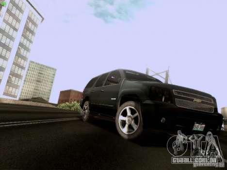 Chevrolet Tahoe 2009 Unmarked para GTA San Andreas esquerda vista