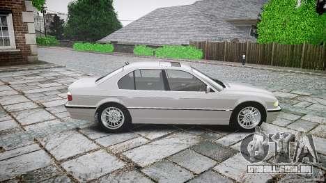 BMW 740i (E38) style 32 para GTA 4 esquerda vista
