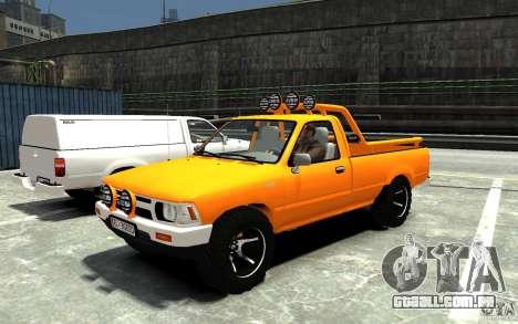 Toyota Hilux 1989-1993 Single cab v1 para GTA 4
