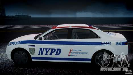 Carbon Motors E7 Concept Interceptor NYPD [ELS] para GTA 4 rodas