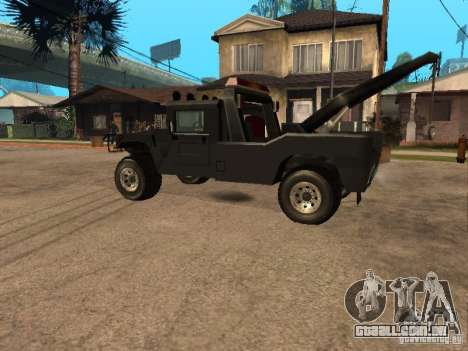 Caminhão HUMMER H1 para GTA San Andreas esquerda vista