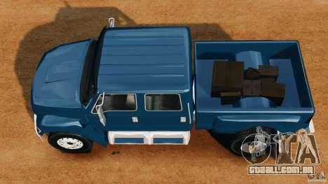 Ford F-650 XLT Superduty para GTA 4 vista direita