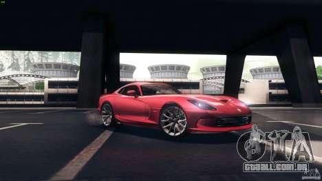 Dodge SRT Viper GTS 2012 V1.0 para GTA San Andreas