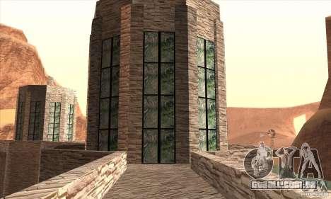 A nova barragem para GTA San Andreas sexta tela