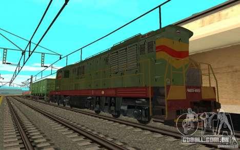 FERROVIÁRIA mod II para GTA San Andreas por diante tela
