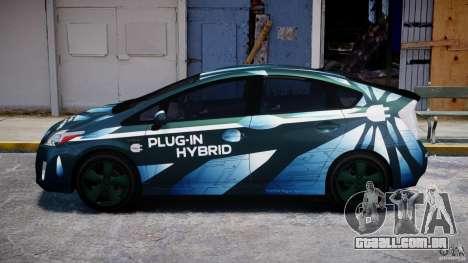 Toyota Prius 2011 PHEV Concept para GTA 4 esquerda vista