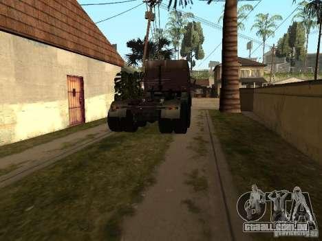 KAMAZ 5410 para GTA San Andreas esquerda vista