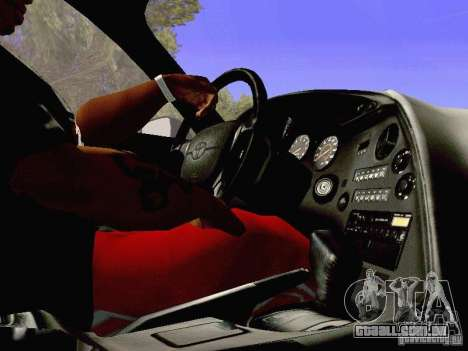 Toyota Supra Drift Edition para GTA San Andreas vista superior