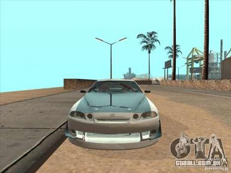 Toyota Soarer (JZZ30) para GTA San Andreas vista traseira
