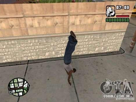 PARKoUR para GTA San Andreas