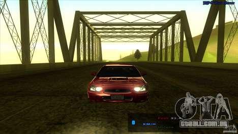 ENBSeries 0.75c para GTA San Andreas por diante tela
