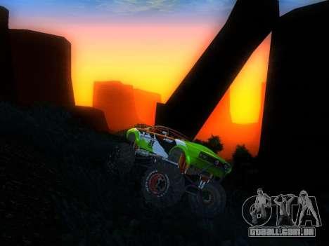 Fire Ball para GTA San Andreas vista direita