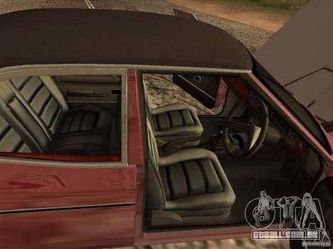 Ford Cortina MK 3 2000E para GTA San Andreas vista traseira