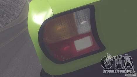 Peugeot 504 para GTA San Andreas vista traseira