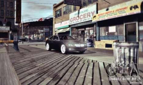 BMW 335i Coupe para GTA 4 traseira esquerda vista