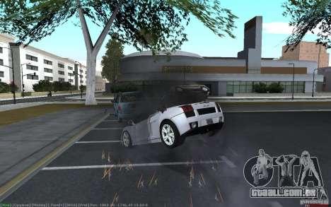 Acidente realista para GTA San Andreas terceira tela