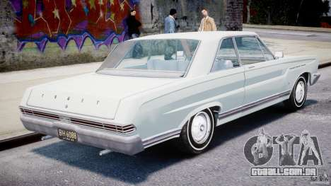 Ford Mercury Comet 1965 [Final] para GTA 4 vista direita