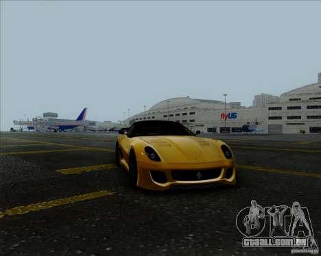 Ferrari Challenge-2009 599XX para GTA San Andreas vista direita