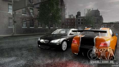 BMW M5 e60 Emre AKIN Edition para GTA 4 vista interior
