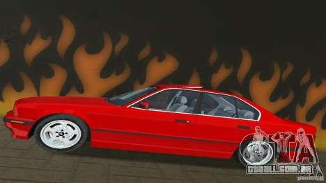 BMW 540i e34 1992 para GTA Vice City