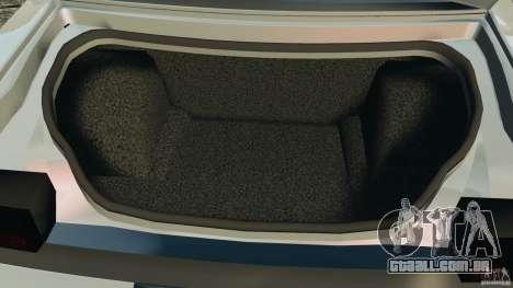 Dodge Challenger SRT8 392 2012 para GTA 4 vista inferior