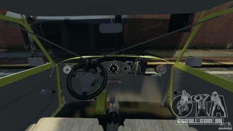 Mini Cooper para GTA 4 vista de volta