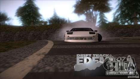 Edem Hill Drift Track para GTA San Andreas por diante tela