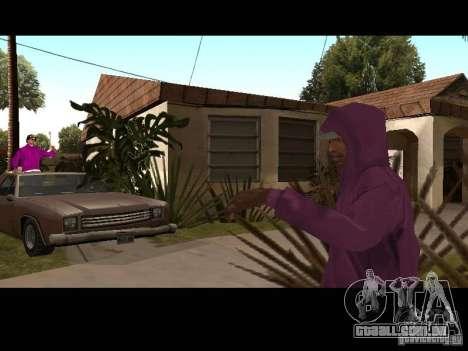 Hood para GTA San Andreas oitavo tela