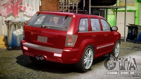 Dodge Durango [Beta] para GTA 4 vista interior