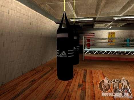 Novo saco de pancadas boxe para GTA San Andreas