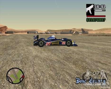 Acura ARX LMP1 para GTA San Andreas vista interior