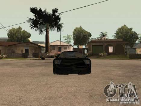 GTA4 Infernus para GTA San Andreas vista direita