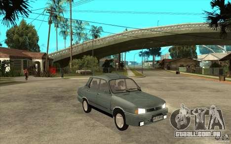 Dacia 1310 L Custom-RK para GTA San Andreas vista traseira