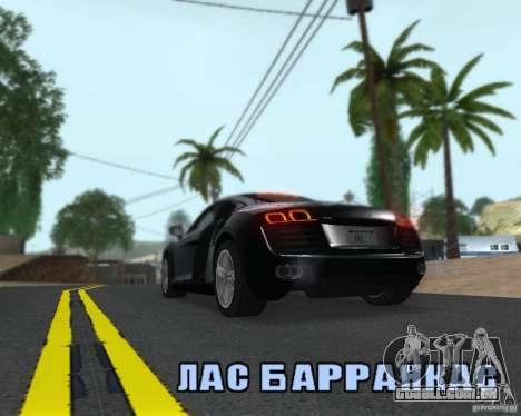 Enb series by LeRxaR para GTA San Andreas quinto tela