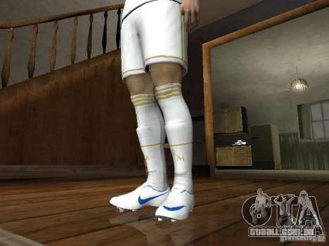 Cristiano Ronaldo para GTA San Andreas quinto tela