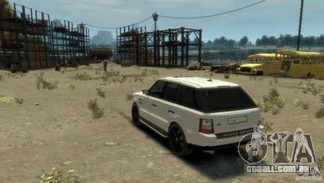 Land Rover Range Rover Sport para GTA 4 esquerda vista