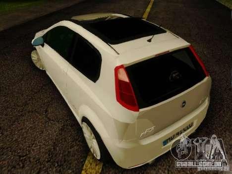 Fiat Grande Punto CLD Style para GTA San Andreas esquerda vista