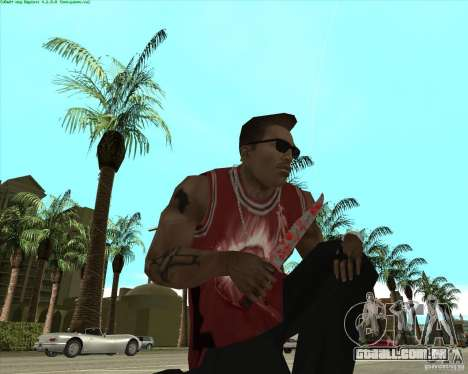 Blood Weapons Pack para GTA San Andreas