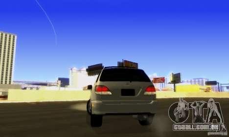 Lexus RX300 para GTA San Andreas vista interior