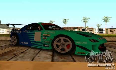 Mazda RX7 Falken edition para GTA San Andreas esquerda vista