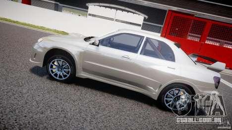 Subaru Impreza STI Wide Body para GTA 4 motor