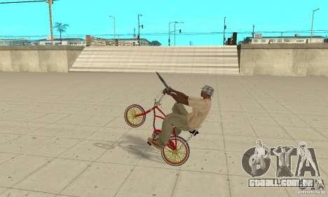CUSTOM BIKES BMX para GTA San Andreas vista direita