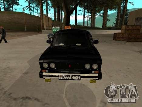 21065 v 2.0 VAZ para GTA San Andreas esquerda vista