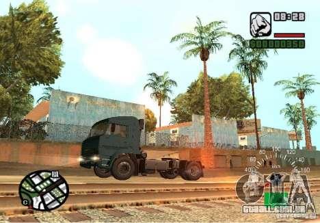 Kamaz 5460 para GTA San Andreas esquerda vista