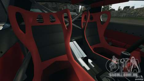 Mazda RX-7 Mad Mike para GTA 4 vista interior