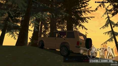 HD Huntley para GTA San Andreas esquerda vista