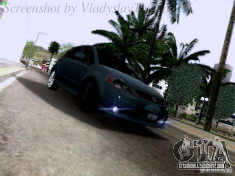 Suzuki SX4 Sportback 2011 para GTA San Andreas vista traseira