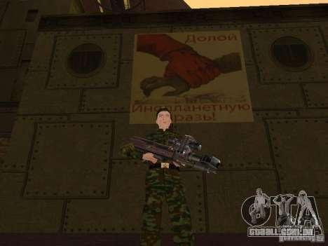 Soldados do exército russo para GTA San Andreas sétima tela